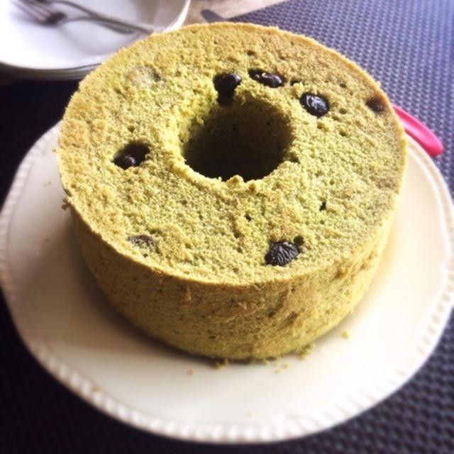 抹茶シフォン(黒豆と栗)・酵母のスコーン