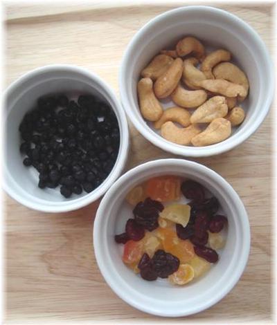 ナッツ&ドライフルーツを使ったオリジナルレシピ募集してます☆