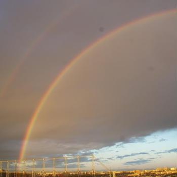 【虹を見る!】