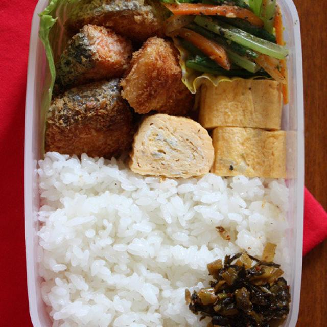 シャケフライ―今日のお弁当