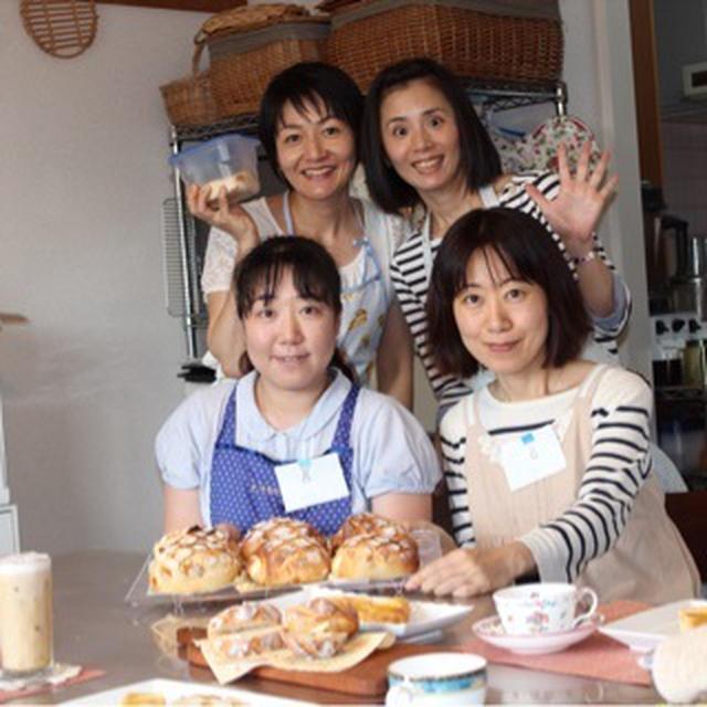 残1!秋の味覚をとことん楽しむ!自家製栗の渋皮煮入りマロンパンが焼ける10月のパン講座(梨酵母)