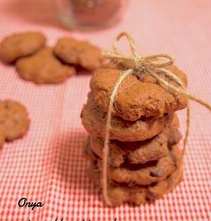 【簡単カフェスイーツ】バレンタインに♪失敗なしの簡単チョコクッキー♪