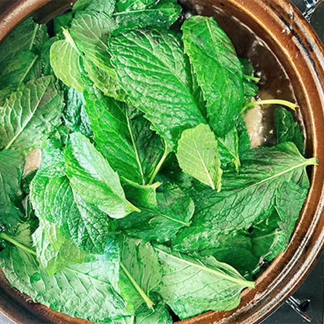 薄荷牛肉湯(ミントと牛肉のスープ)