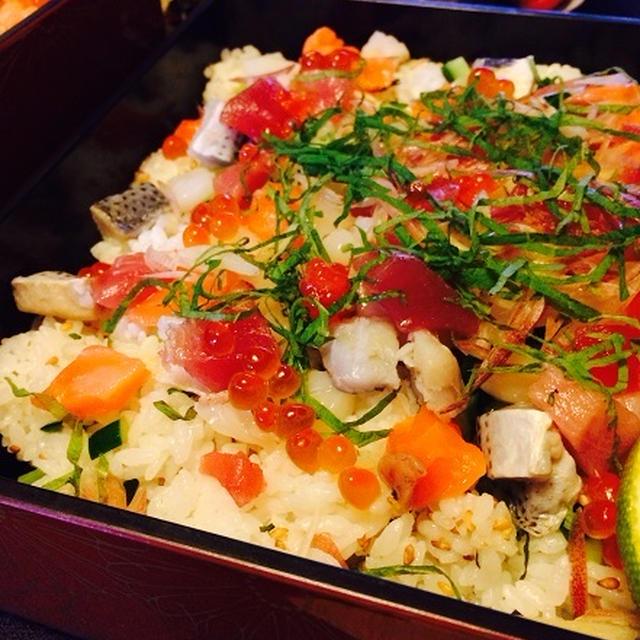 【モニター投稿】コロコロ海鮮のちらし寿司