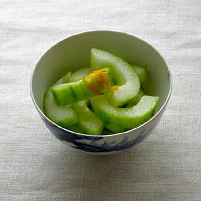 加賀きゅうりの柚子風味