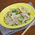 とろ旨!フライパンで ほぼ無水調理の豚肉と白菜の炒め煮