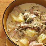 チキンとベーコンのクリーム煮