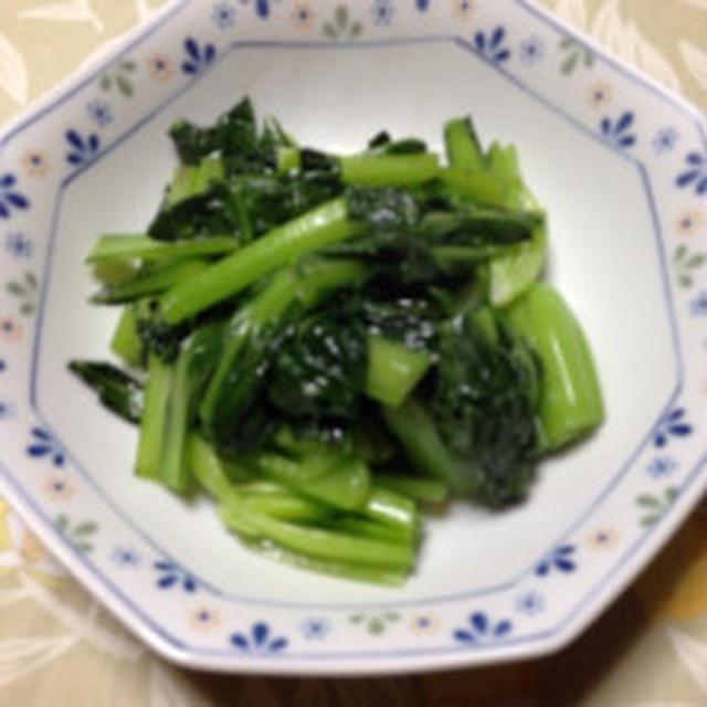青菜の中華炒め作りました