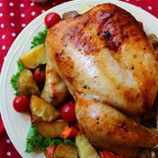 丸鶏ローストチキン