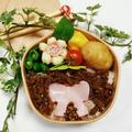 牛肉のしぐれ煮ふりかけ弁当