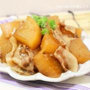 フライパンde柚子胡椒風味の豚バラ大根
