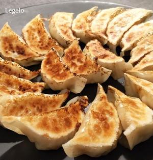 ヘルシー♪キャベツたっぷり鶏むね肉の餃子☆粗切り柚子こしょう入り♪餃子について。。。