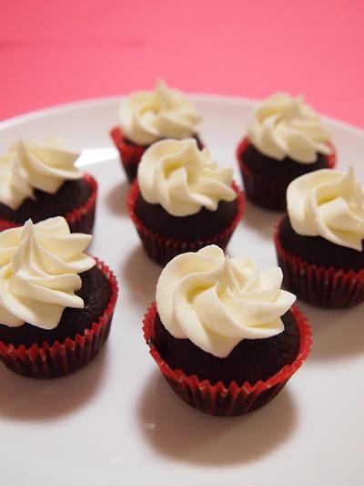 ジンジャーチョコレートカップケーキ