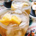 パイナップルと玄米黒酢のフルーツビネガーウォーター