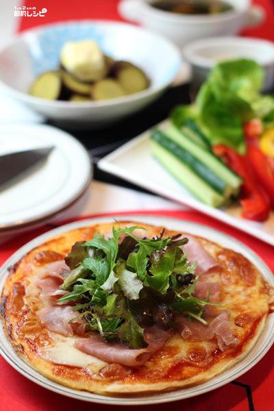 生ハムとモッツァレラチーズのピザ、健康について