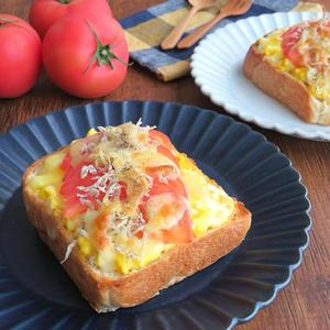 朝食に食べたい!食欲そそる「トマト×食パン」のレシピバリエ