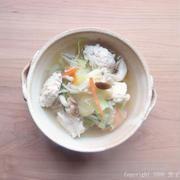 こなべっち塩ちゃんこを使ったスープレシピ