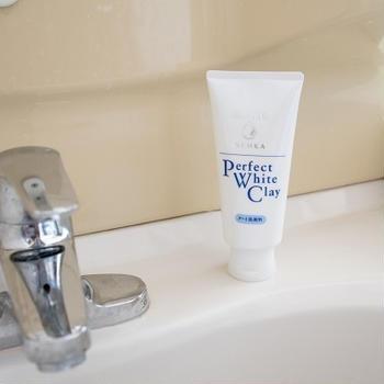 スッキリ感がイイ!洗顔専科パーフェクトホワイトクレイ