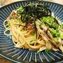 簡単!!たっぷり きのことベーコンの和風パスタの作り方/レシピ