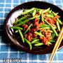 ♡ごはんがすすむ♡ひき肉といんげんの生姜味噌炒め♡【#簡単#時短#レシピ】