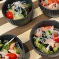 「福島クッキングアンバサダー」キュウリやズッキーニなど夏野菜たっぷりでおもてなし~♪♪ by pentaさん