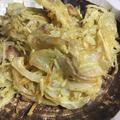 【生姜レシピ】生姜と玉ねぎと豚バラのかき揚げ