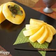 サクサク食感の岐阜県産の柿!