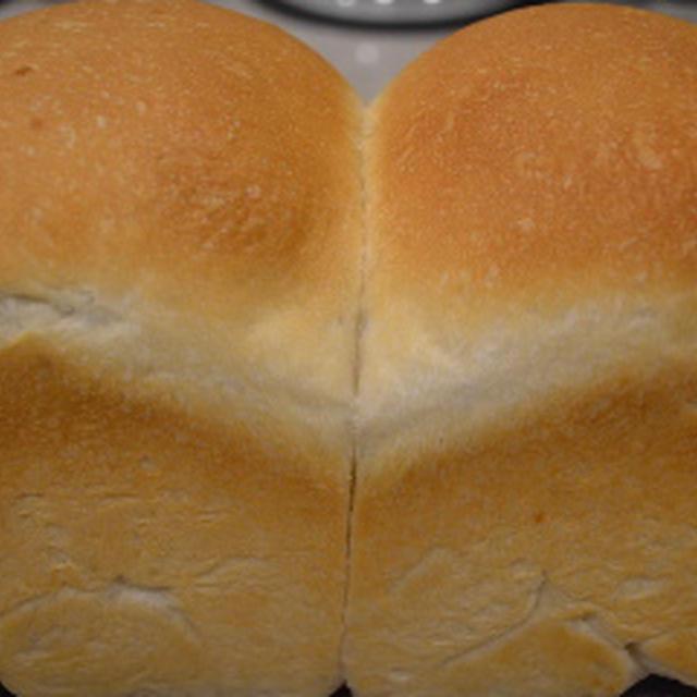 明けましておめでとうございます♪お土産の山食パン♪