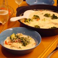 【うちレシピ】鮭のチーズたっぷりクリームチャウダー / 【参加中】フーディストアワード2019レシピ&フォトコンテスト