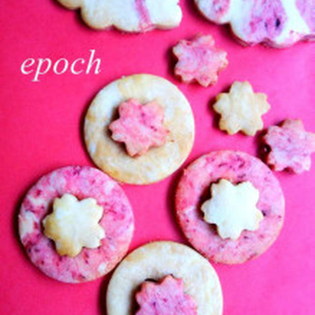 【レシピ付き】祝!紅白クッキー★ノンバター