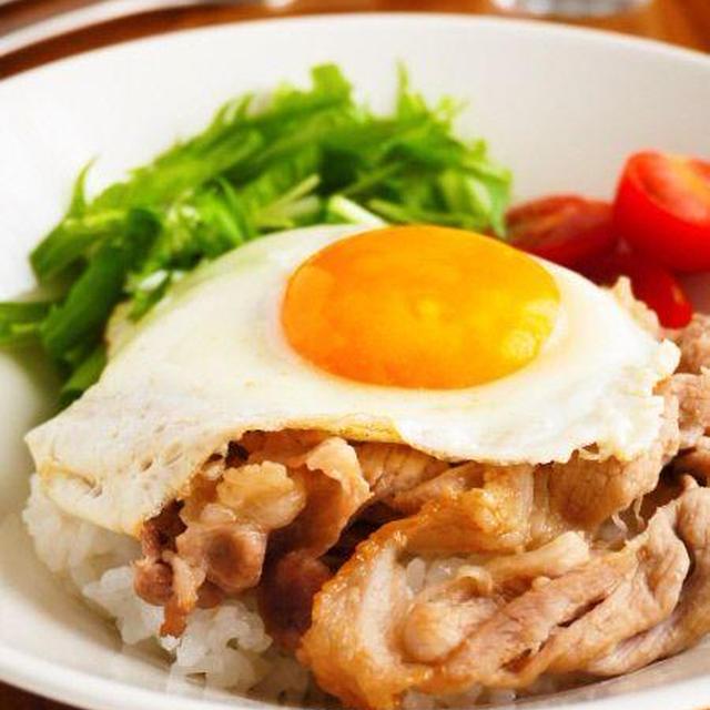 とろたま豚丼♪簡単おいしい豚こまレシピ