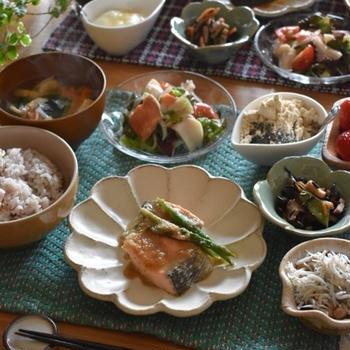 朝ごはん♪…遠征中の食事。