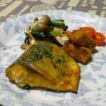 鯖のカレーグリル