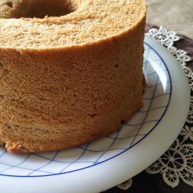 ルイボスティーのシフォンケーキ