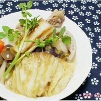 根菜で和風焼きポトフ