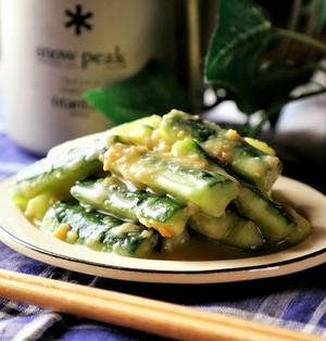 基本の和食❤️きゅうりの辛子酢味噌あえとスタバデート