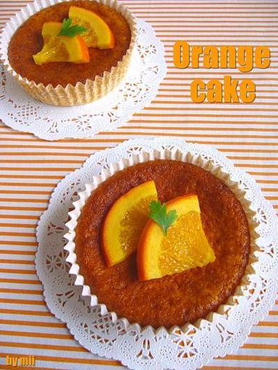 ホットケーキミックスde簡単オレンジケーキ♪