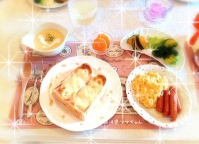 メイプルチーズトースト☆レシピ