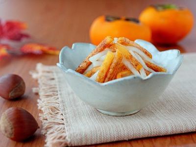 柿で副菜レパートリーを増やす!あっさり系おかずレシピ8選