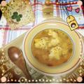 パプリカの卵スープ