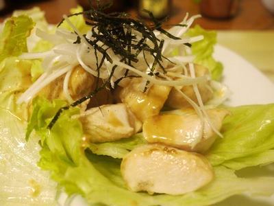 「鶏胸肉の味噌マヨ焼き」とか