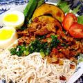 台湾料理!鶏肉飯(チーローハン)ライスなし