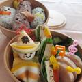秋祭りだ!<豆腐の生春巻き醤油ダレ>