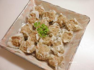 簡単ヘルシー!フライパンで作る【手作り焼売(シューマイ)】レシピ