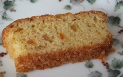 キラキラパウンドケーキ