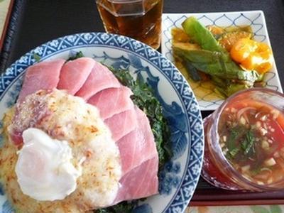 薬膳とろろマグロ丼 スタミナ和食で元気な夏! 湘南茅ヶ崎家庭料理教室~GreenCooking-ABE
