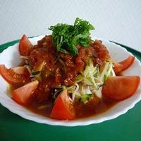 ♪トマトのサラダ素麺♪