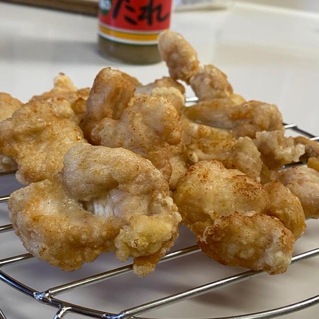おウチ時間☆鶏胸肉の塩唐揚げ