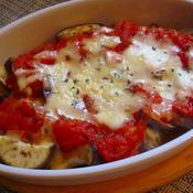 減塩!作り置きトマトソースで茄子のトマトソースチーズ焼き