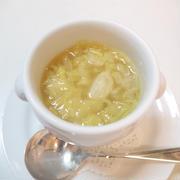 千切りキャベツのあったかスープ
